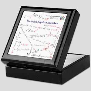 Common Algebra Mistakes Keepsake Box
