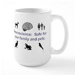 Safe Neuroscience Large Mugs