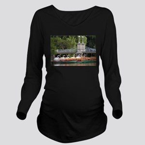 swan boats mousepad Long Sleeve Maternity T-Shirt