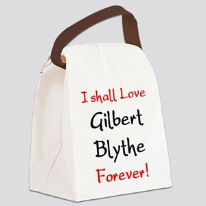 gilbert blythe Canvas Lunch Bag
