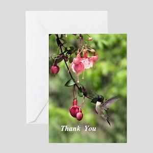 Black-chinned Hummingbird Greeting Cards
