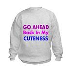 GO AHEAD Sweatshirt
