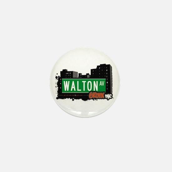 Walton Av, Bronx, NYC Mini Button