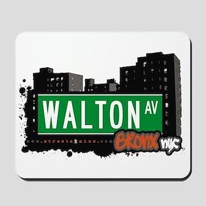 Walton Av, Bronx, NYC Mousepad