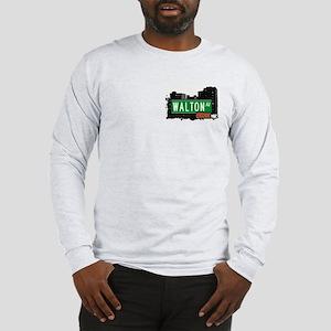 Walton Av, Bronx, NYC Long Sleeve T-Shirt