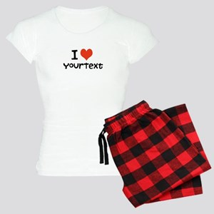 CUSTOMIZE I Heart Women's Pajamas