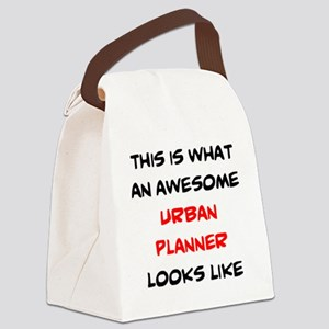 awesome urban planner Canvas Lunch Bag