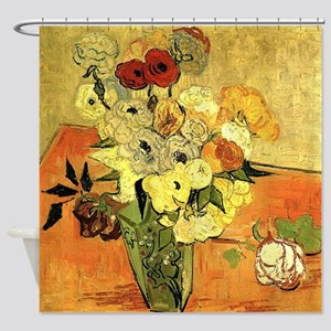 Vase with Peonies and other flowers. Vincent van G