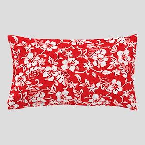 Retro Hawaiian Print Pillow Case