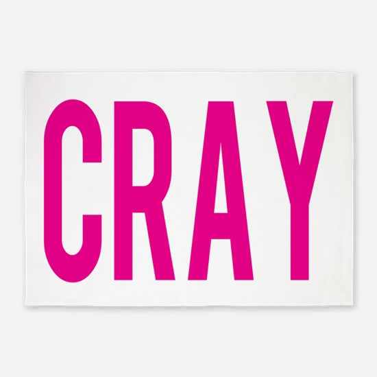 CRAY PINK 5'x7'Area Rug