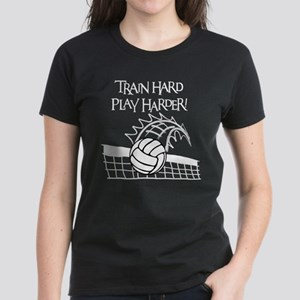 TRAIN HARD Women's Dark T-Shirt