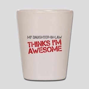 Daughter-In-Law Awesome Shot Glass