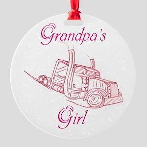 Grandpas Girl Ornament