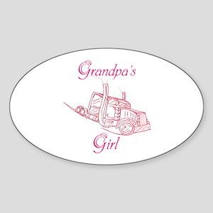 Grandpas Girl Sticker