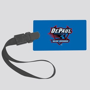 DePaul Blue Demons Large Luggage Tag
