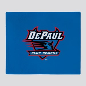 DePaul Blue Demons Throw Blanket