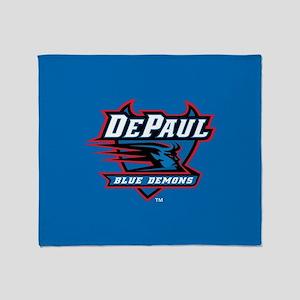 DePaul Blue Demons Throw Blanket