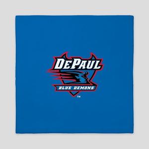 DePaul Blue Demons Queen Duvet