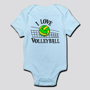 LOVE VOLLEYBALL Infant Bodysuit