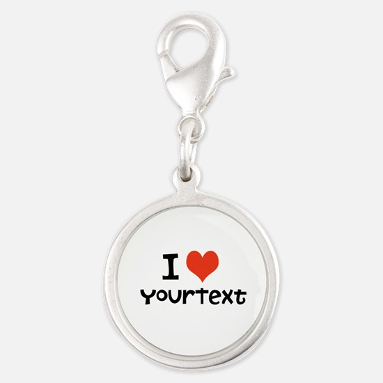 CUSTOMIZE I heart Charms