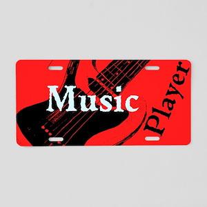 Music Player Aluminum License Plate