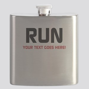 Run - Your Text Personalized Flask