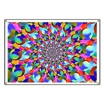 Rainbow Spiral Fractal Art Banner