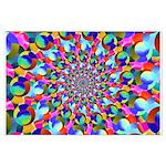 Rainbow Spiral Fractal Art Posters