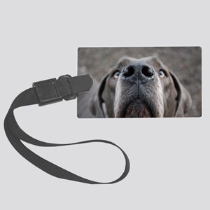 The Great Dane nose Large Luggage Tag