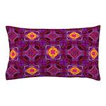 Purple Kaleidoscope Pattern Pillow Case