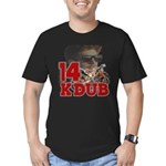 KDub 14 Men's Fitted T-Shirt (dark)