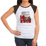 KDub 14 Women's Cap Sleeve T-Shirt