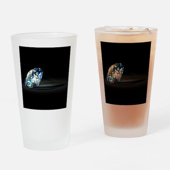 Diamond Prism Drinking Glass