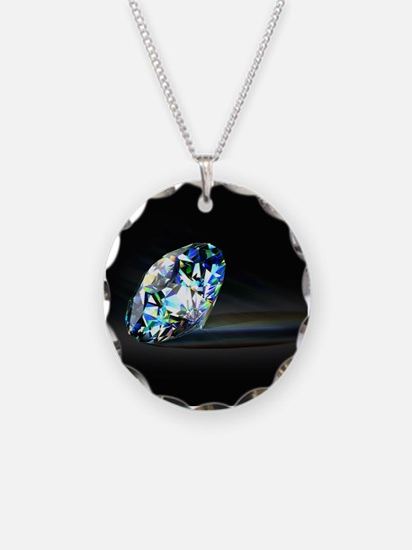 Diamond Prism Necklace