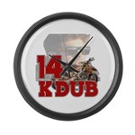 Kdub14 Large Wall Clock