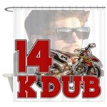 KDub14 Shower Curtain