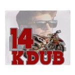 KDub14 Throw Blanket