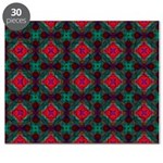 Pink and Green Retro Pattern Puzzle