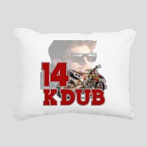 KDub14 Rectangular Canvas Pillow