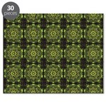 Green Marble Fractal Pattern Puzzle
