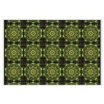 Green Marble Fractal Pattern Posters