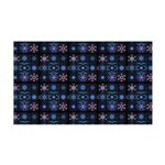 Blue Fractal Collage Wall Decal