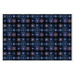 Blue Fractal Collage Posters