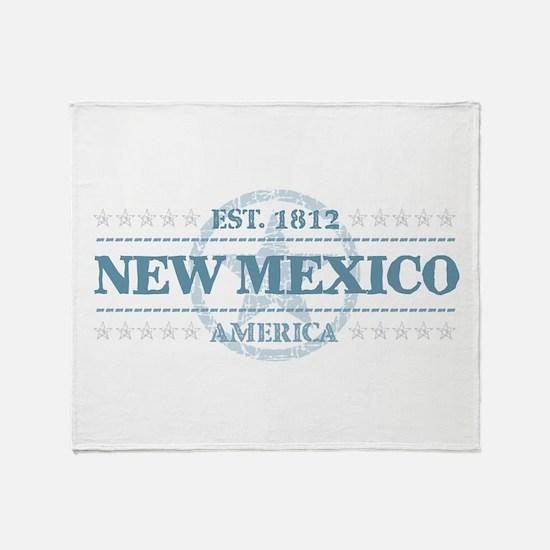 New Mexico Throw Blanket