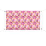 Pink Mandala Pattern Banner