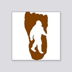 Bigfoot Footprint Sticker