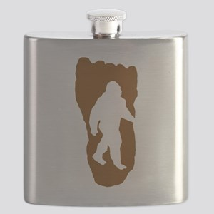 Bigfoot Footprint Flask