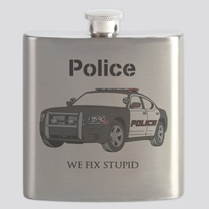 Police We Fix Stupid Flask
