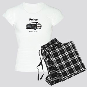 Police We Fix Stupid Pajamas