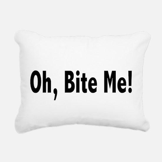 biteme2.png Rectangular Canvas Pillow